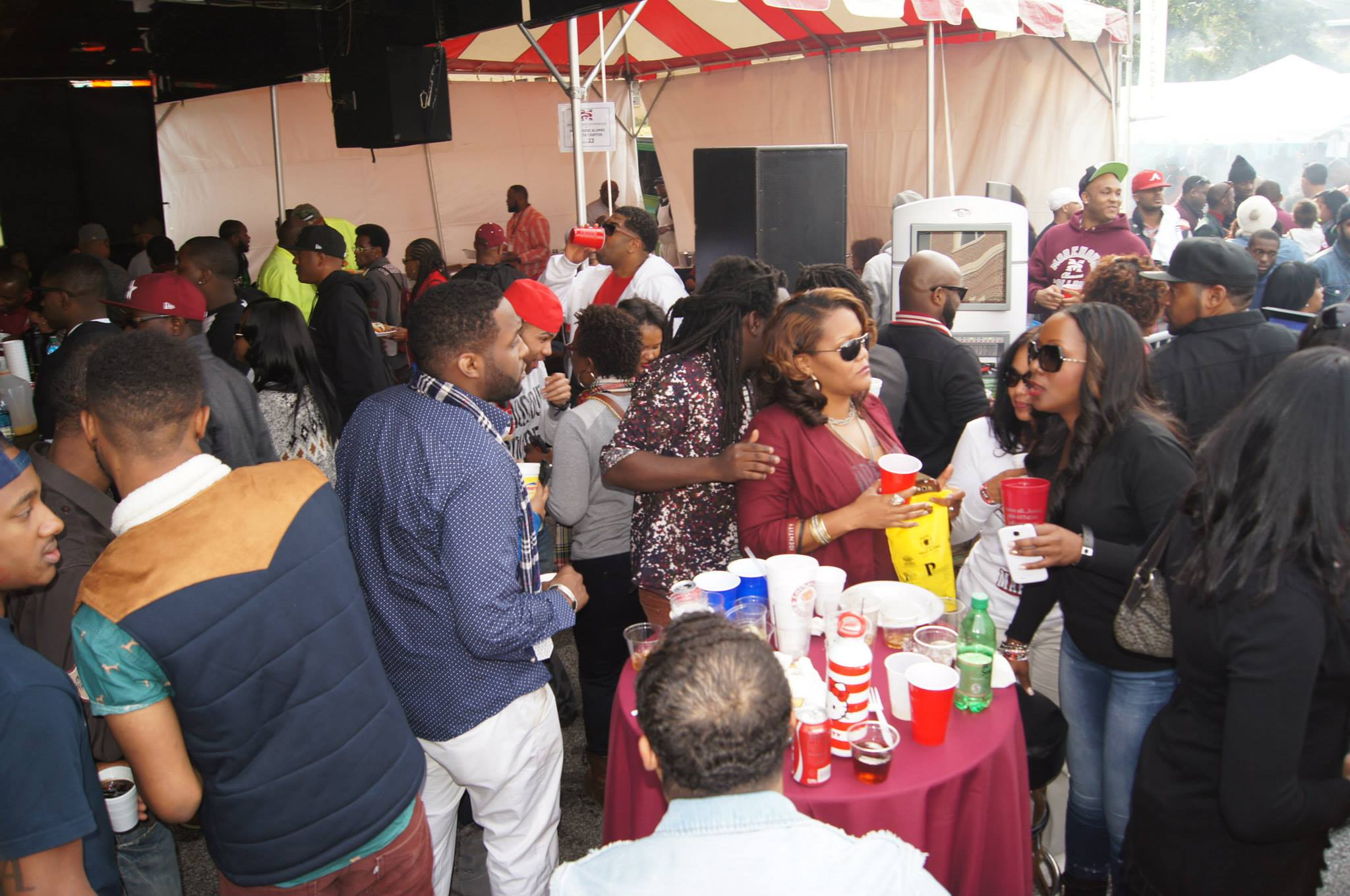 2014 Morehouse Homecoming Alumni Tailgate Tent