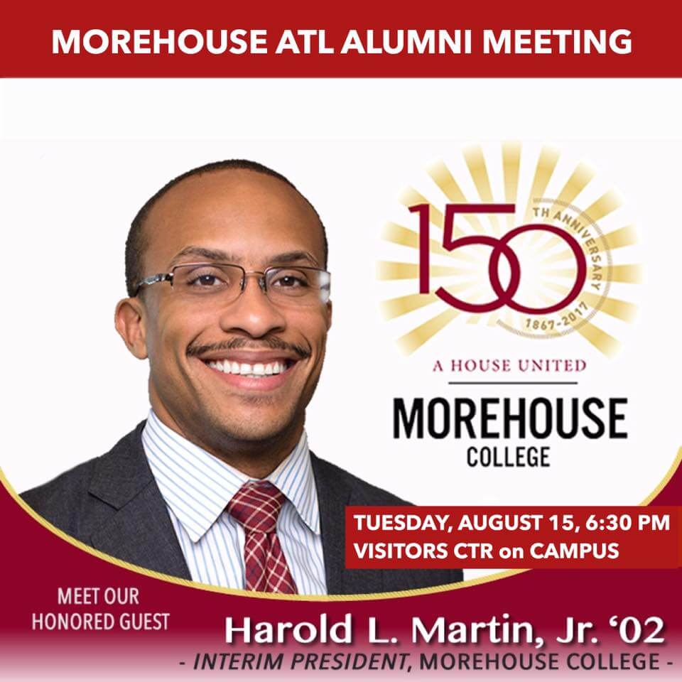 2017 Morehouse NSO (New Student Orientation) Alumni Events