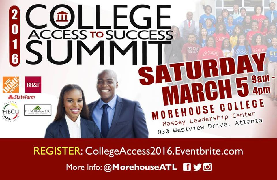 2016 College Access to Success Summit – REGISTER TODAY
