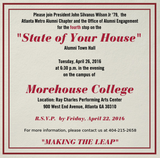 President Wilson to Host Alumni Town Hall