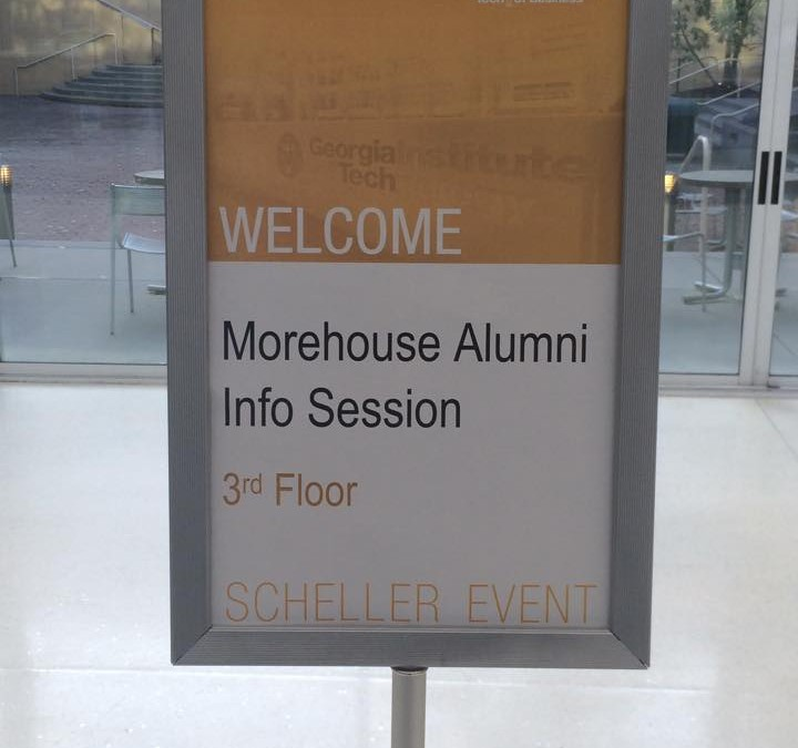 PHOTOS: Georgia Tech MBA Info. Session for Morehouse alumni