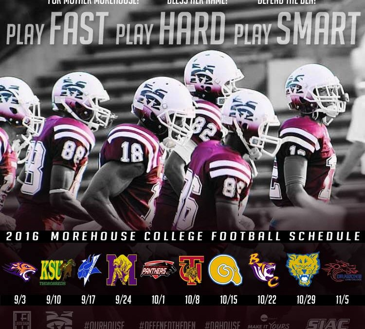 2016 Morehouse Football is Here!