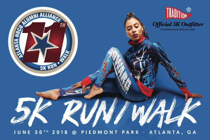Flyer - Atlanta HBCU 5K Run Walk