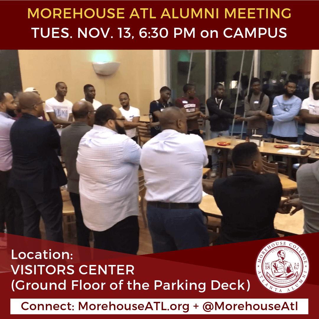 November 2018 Morehouse ATL ALumni Meeting