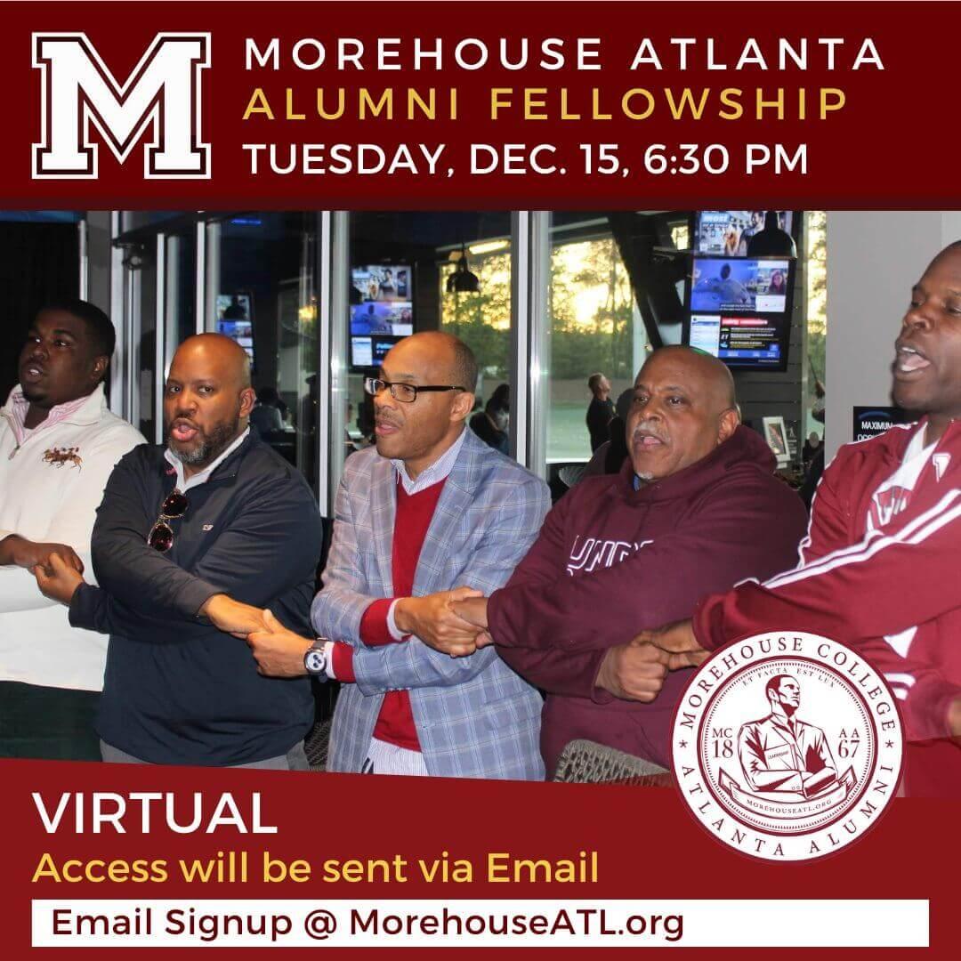 December 2020 Morehouse Atlanta Alumni Chapter Fellowship Meeting