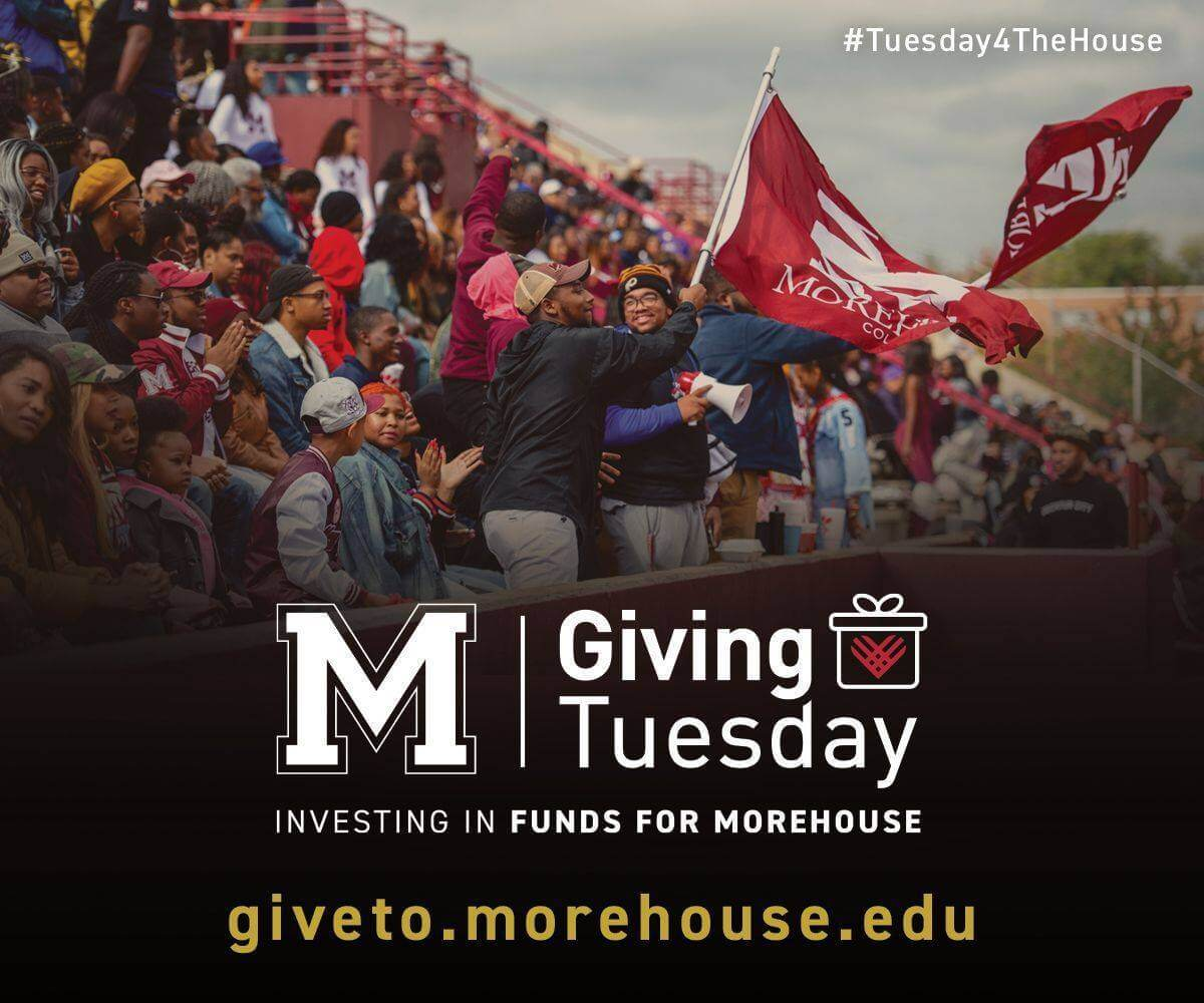 2020 Morehouse Giving Tuesday flyer