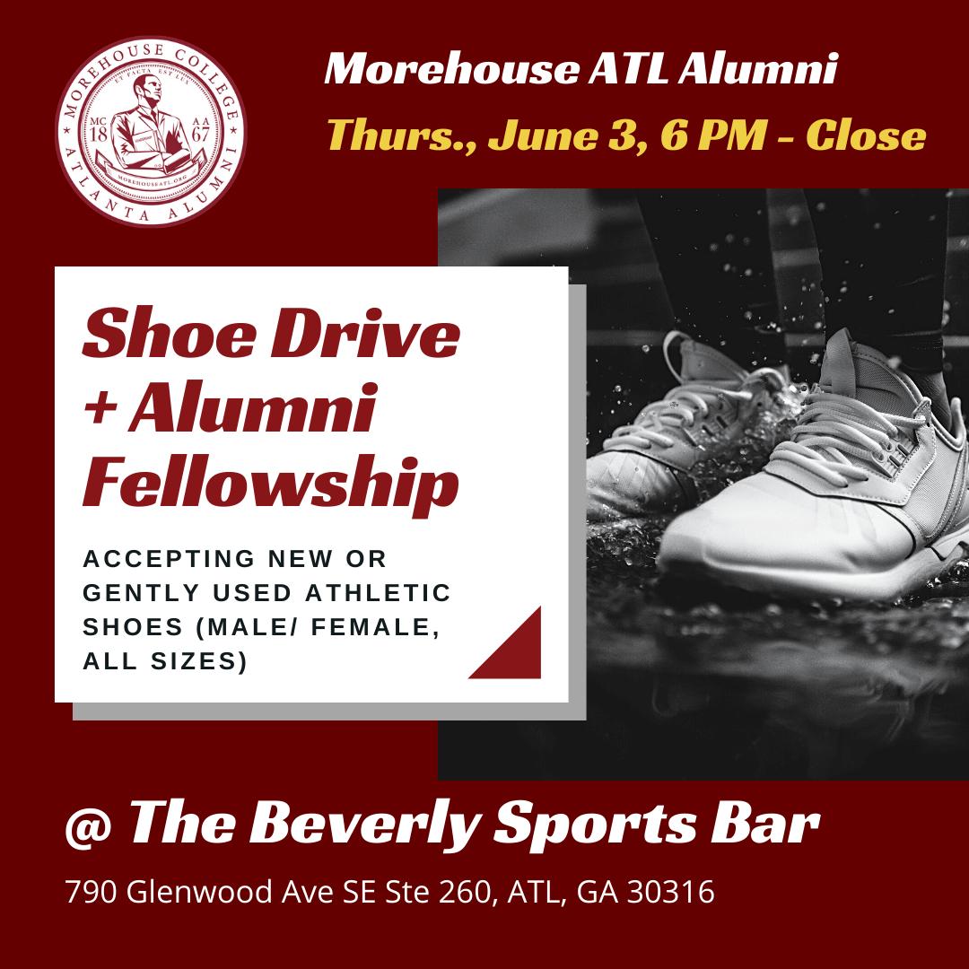 Morehouse ATL Alumni Shoe Drive and Fellowship