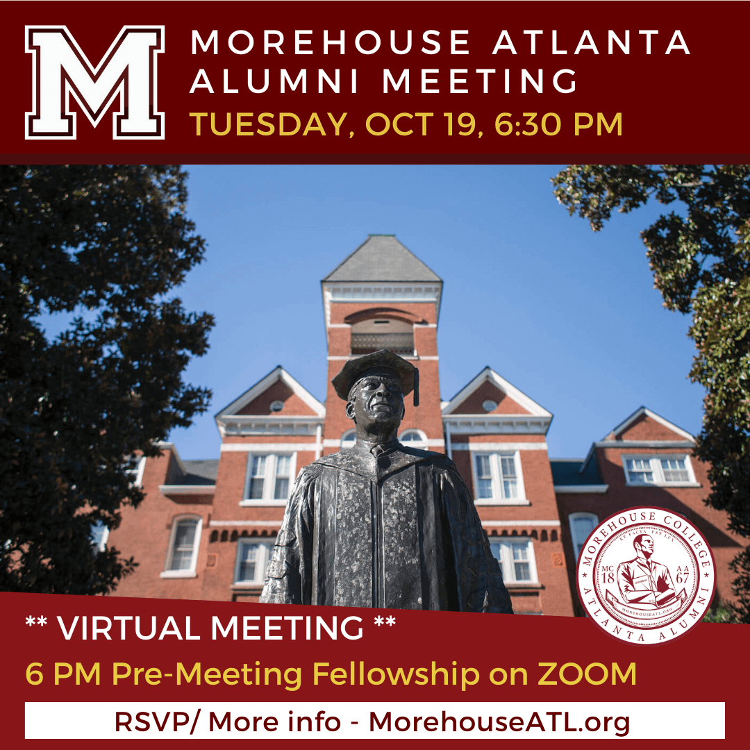 Morehouse College Atlanta Alumni Meeting - September 2021